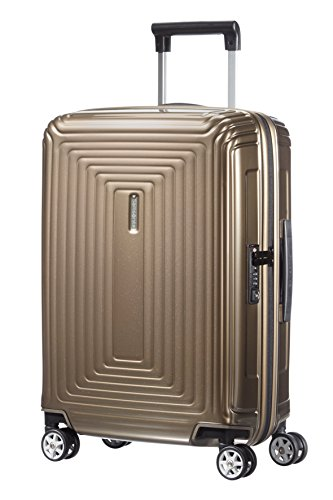 Samsonite-Neopulse-Spinner-5520-Equipaje-de-Mano-38-Litros-Color-Beige-0